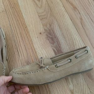 Lands end driving shoes worn once